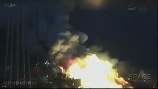 انفجار موشک آنتارس ناسا