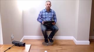 حرکت دادن توپ بدون دست زدن به آن با استفاده از کینکت مایکروسافت