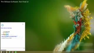 نحوه عملکرد دستیار صوتی مایکروسافت به نام کورتانا در ویندوز 10
