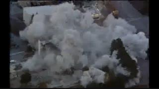 تخریب برج در چند ثانیه