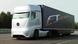 کامیون هوشمندی که قرار است سال 2025 توسط مرسدس بنز تولید و وارد بازار شود