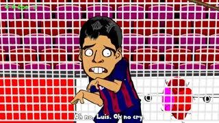 کارتون چالش سطل آب یخ بین فوتبالیست ها