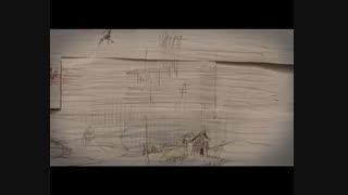 انیمیشن فوق العاده جالبی که با تا زدن کاغذ ها ایجاد شده