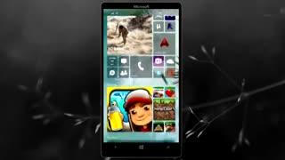 ویدیویی از طرح مفهومی ویندوز 10 موبایل و ویژگی های آن