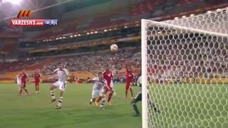 گل دقیقه 90 قوچان نژاد مقابل امارات