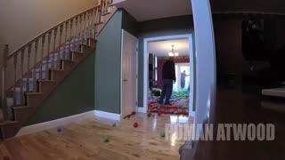 چگونه خونه خود را تبدیل به استخر توپ کنید ؟؟؟!!! :))