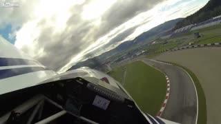 """مسابقه خلبانی رد بال """"Red Bull"""" در اتریش را از داخل کابین خلبان تماشا کنید"""