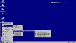 نمایی از ویندوز ۹۸