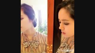 kiss کره ای نماشا هان گا این و همسرش، بازیگر زن کره ای محبوب من - نماشا