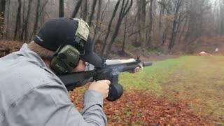 اسلوموشن شلیک با سلاحهای مختلف