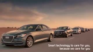 تیزر تبلیغاتی خودروی جنسیس 2015 (GENESIS 2015)