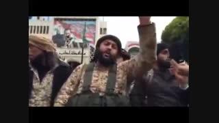 """اصابت موشک به """"سخنرانی"""" سرکرده سعودی النصره"""