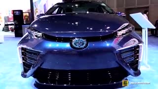 نمایش خودروی تویوتا میرای 2015