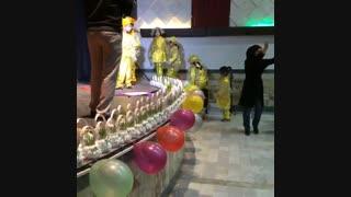 جشن نوروز 94- اجرای موزیکال حرکات موزون توسط کودکان