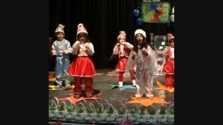جشن نوروز 94- اجرای موزیکال حرکات موزون