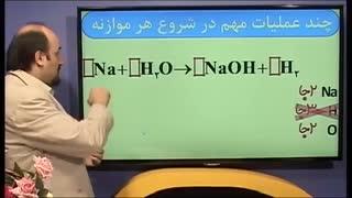 آموزش موازنه کردن(شیمی)