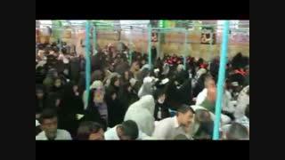 طنین الهی و ربی من لی غیرک در خیمه گاه حسینی