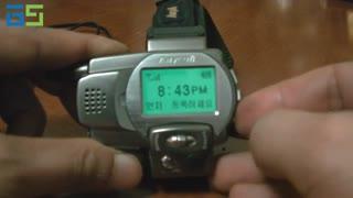 نخستین ساعت-تلفن سامسونگ در سال ۱۹۹۸