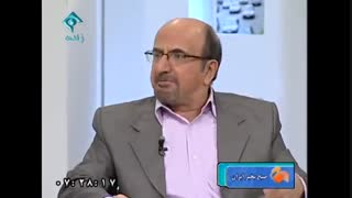 محمد اوزی (طنزنویس قدیمی) در برنامه صبح بخیر ایران شبکه اول سیما