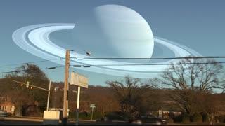 اگر جای ماه با دیگر سیاره ها عوض می شد !