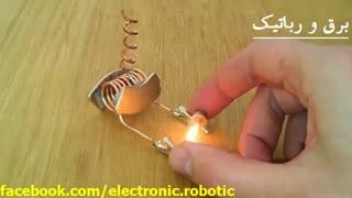 تولید انرژی الکتریکی توسط القا