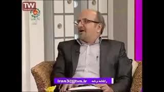 طنزنویس قدیمی میهمان شبکه جهانی جام جم ( همراه چند کلیپ طنز قدیمی )
