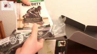 XBOX ONE CALL OF DUTY ADVANCED WARFARE BUNDLE PERSIAN UNBOXING