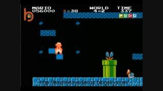 سوپر ماریو قارچ خور  یاداوری قسمت های مختلف این بازی قشنگ