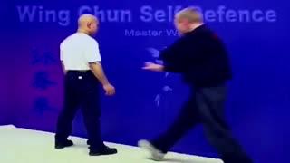 دفاع شخصی 1 - وینگ چون کونگ فو - استاد ونگ