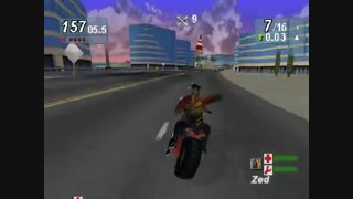 فیلم از بازی Road Rash Jailbreak سونی 1
