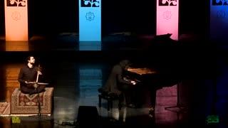 بداهه نوازی پیانو  و کمانچه