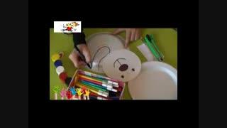 آموزس ساخت یک خرس قشنگ