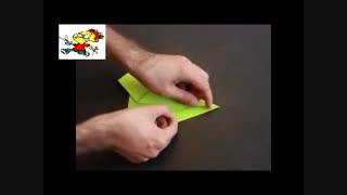 ساخت یک هواپیمای کاغذی