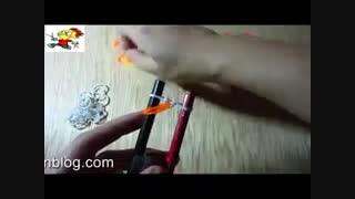 ساخت دستبند باکشهای رنگی