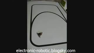 کوچکترین ربات مسیر یاب که دیده اید !