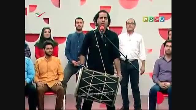 اجرای موسیقی بندری زیبا در برنامه خندوانه رامبد جوان