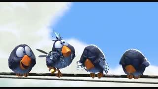 انیمیشن زیبای « پرندگان »
