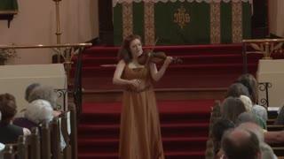 ویولن از راشل بارتون - Paganini Caprice No.24