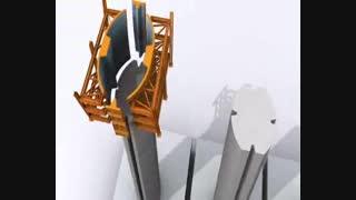 پروژه عظیم پل کاروانسراسنگی
