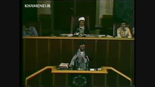 فیلم کامل نطق آیت الله خامنه ای در مجلس شورای اسلامی در جلسه بررسی کفایت سیاسی بنیصدر