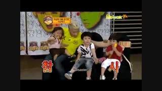 درآوردن گریه بچه توسط وویونگ 2pm!!!