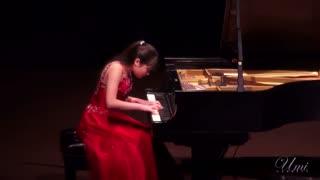 پیانو از یومی گرت - Mozart Sonata No.18 K.576 1st Movement