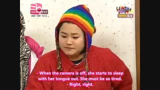 Yuri (SNSD) Sleeping Habits