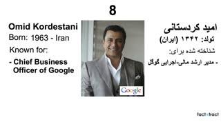 تکنولوژی دنیا در تسخیر ایرانیان