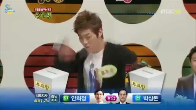 اهنگ snsd نماشا (BEAST) Doojoon's voice cracking infront of SNSD - نماشا