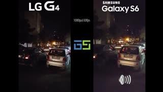 مقایسه کیفیت فیلمبرداری Galaxy S6 و LG G4 در شب