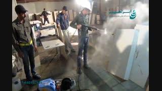نظافت صنعتی پالایشگاه های نفت و گاز/ جت واتر صنعتی