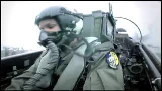 خلبان زن F-14  در ناو هواپیمابر آمریکا