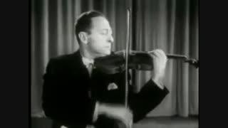 ویولن از یاشا هایفتز - Paganini Caprice No. 24