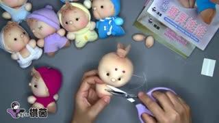آموزش ساخت عروسک